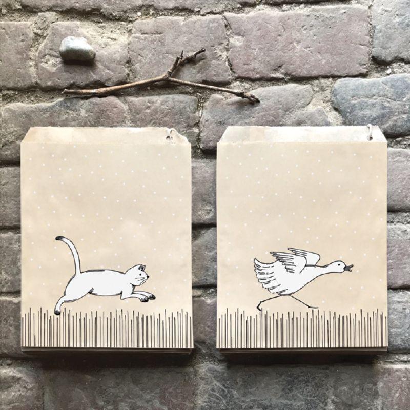 Σακουλάκια μικρά 50 - Πάπια