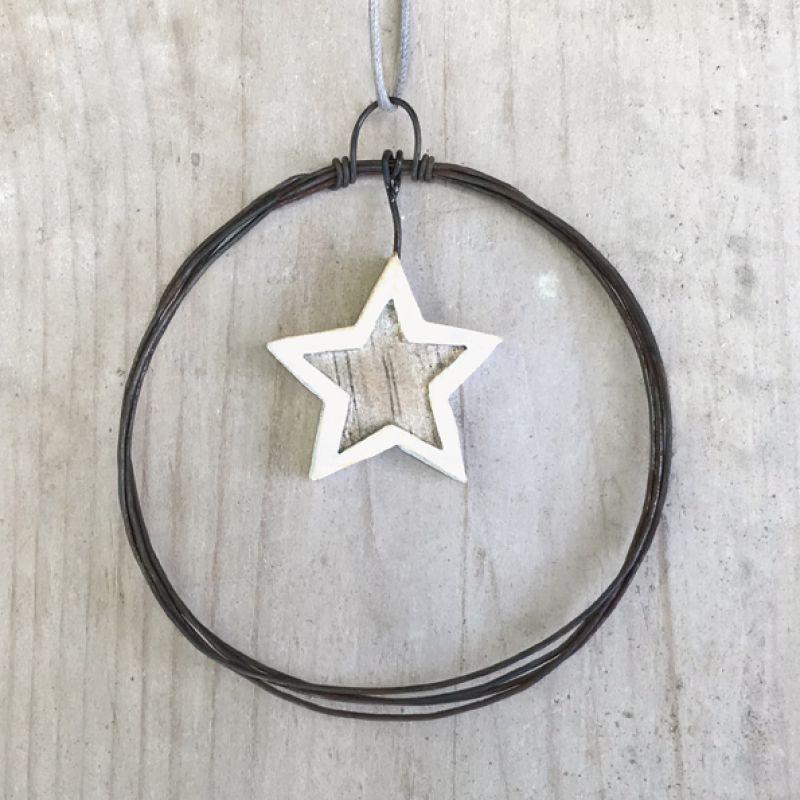 Στεφάνι σύρμα μικρό - Αστέρι