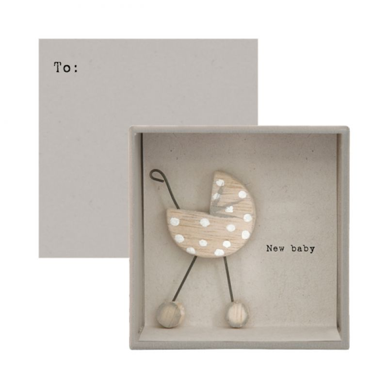 Κάρτα σε κουτί-New baby