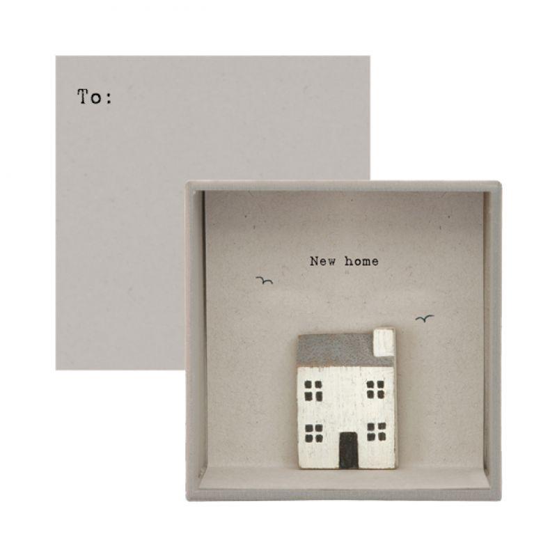 Κάρτα σε κουτί-New home
