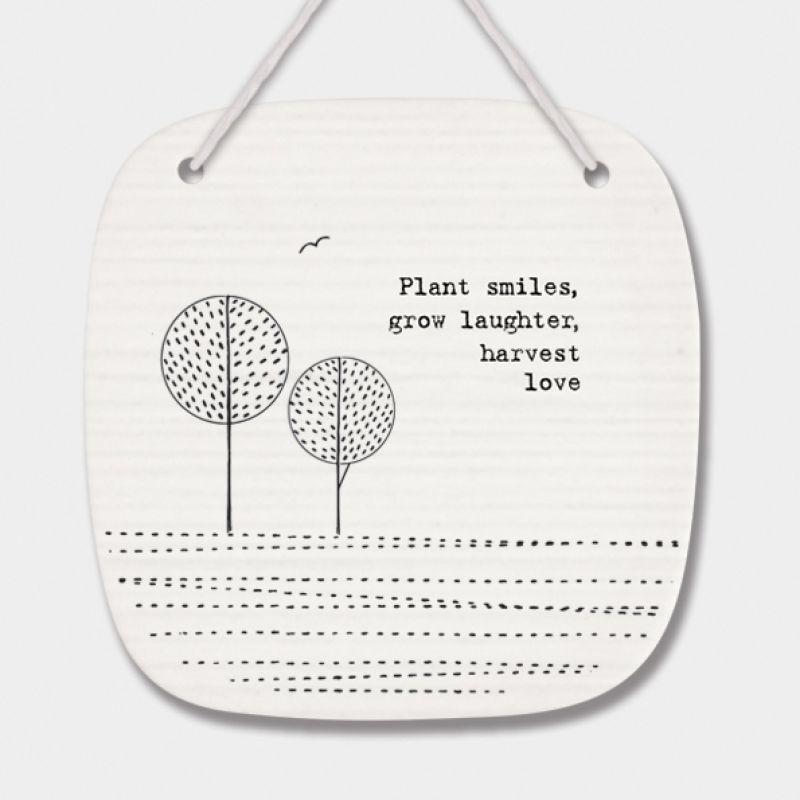 Πορσελάνινο κάδρο - Plant smiles…