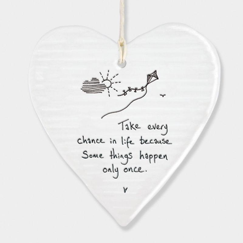 Πορσελάνινη Καρδιά - Take every …