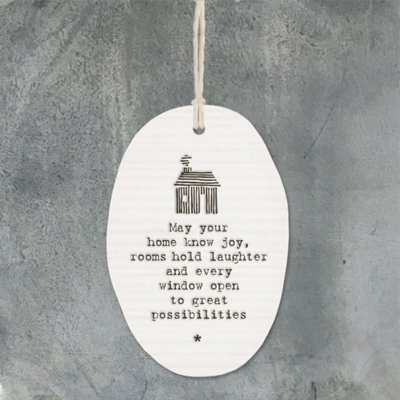 Πορσελάνη οβάλ - May your home