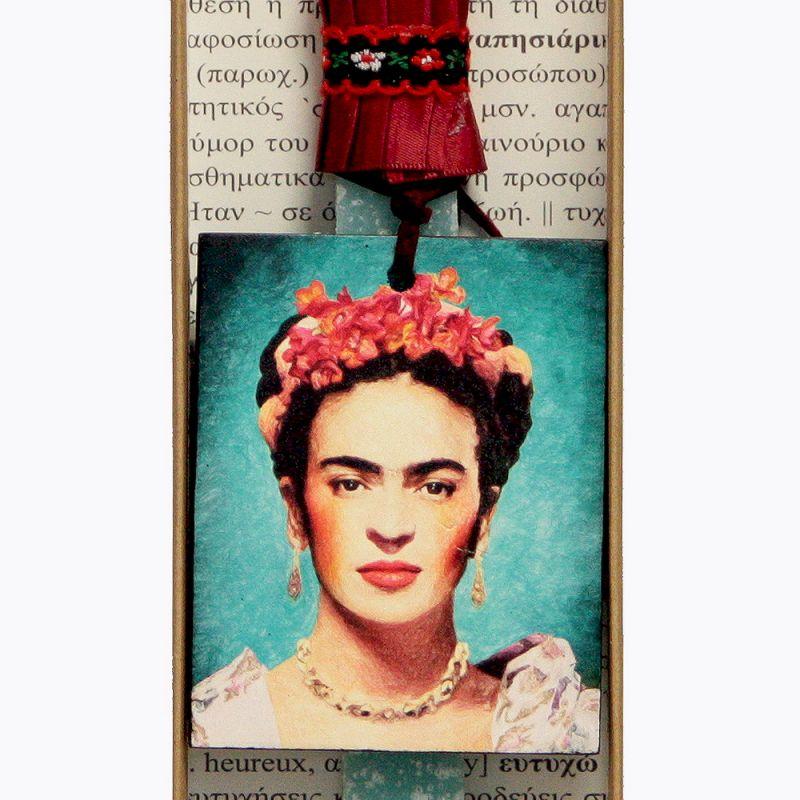 Λαμπάδα Frida Kahlo - Τυρκουάζ