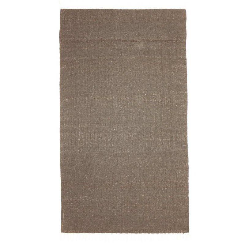 Χαλί 90x150 μονόχρωμο - ασημί