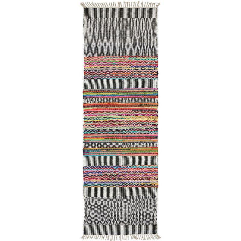 Rishikesh handloom indian rug, 75x240cm