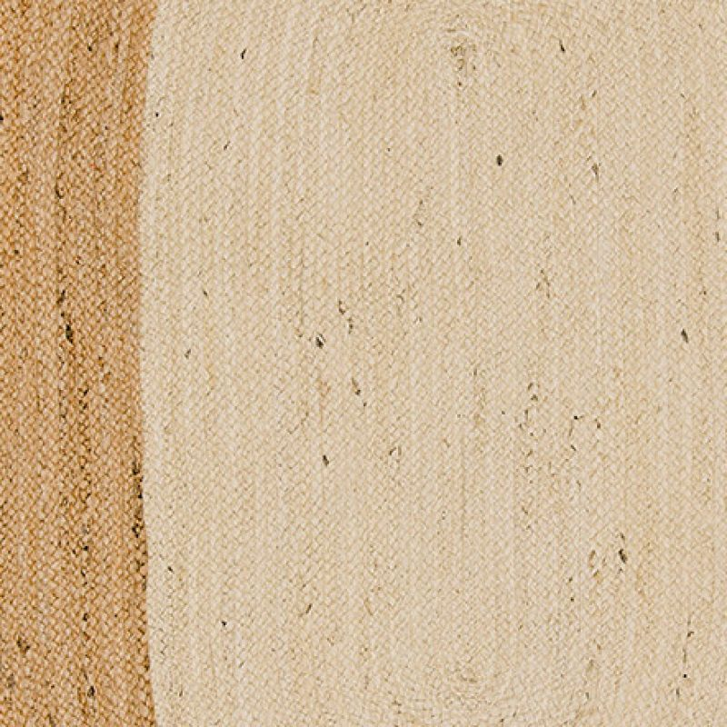 Sariska oval jute rug, 90x150cm