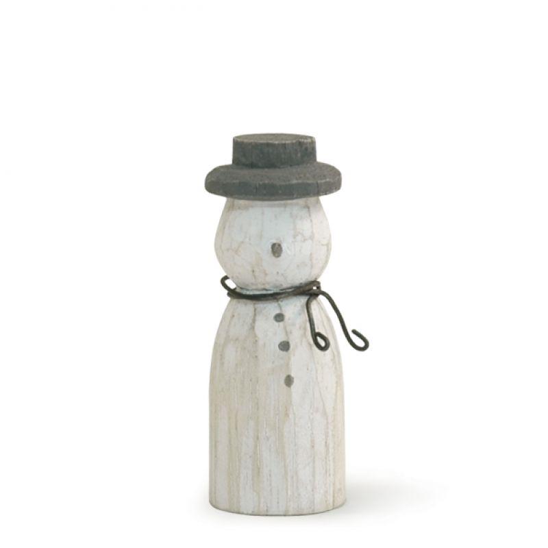 Χιονάνθρωπος ξύλινος 5,5εκ.
