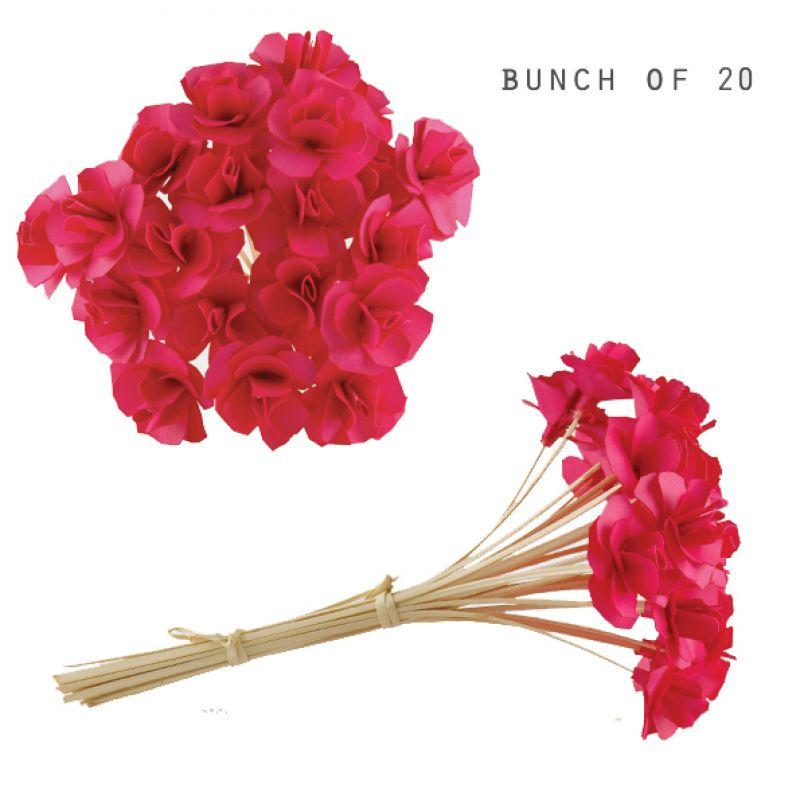Μπουκέτο λουλούδια (20) - Ροζ