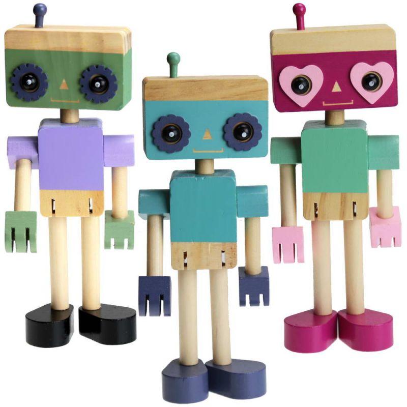Ξύλινο ρομπότ 20εκ.