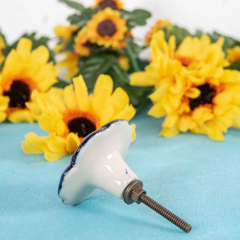 Πόμολο λουλούδι παπαρούνα Διαμ.5,5εκ.