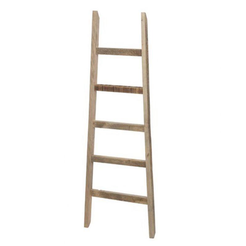 Ladder historic wood 118cm Natural