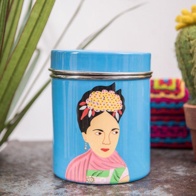 Δοχείο Frida Kahlo Μπλε
